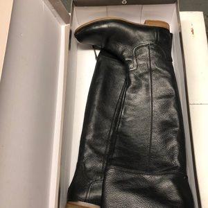 861a9c55631 Franco Sarto Shoes - Franco Sarto Black pebble leather Carlisle Boot
